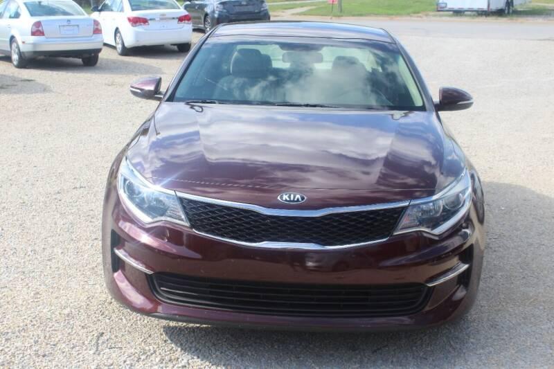 2017 Kia Optima for sale at Bailey & Sons Motor Co in Lyndon KS