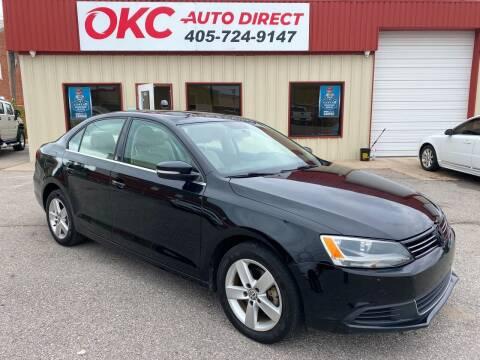 2013 Volkswagen Jetta for sale at OKC Auto Direct in Oklahoma City OK