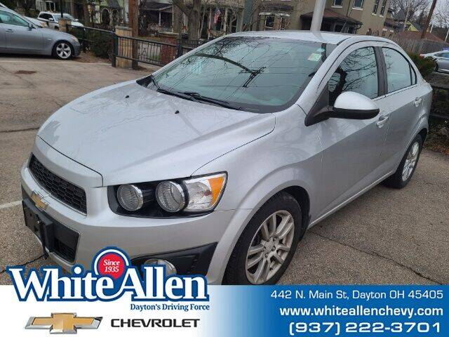 2013 Chevrolet Sonic for sale at WHITE-ALLEN CHEVROLET in Dayton OH