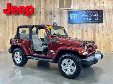 2008 Jeep Wrangler for sale at Boone NC Jeeps-High Country Auto Sales in Boone NC