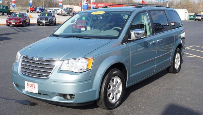 2010 Chrysler Town and Country for sale at Ricks Auto Sales, Inc. in Kenton OH