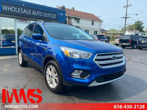 2018 Ford Escape for sale at MWS Wholesale  Auto Outlet in Grand Rapids MI