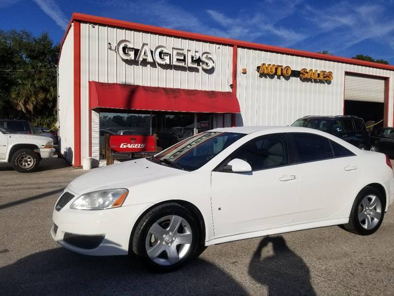 2010 Pontiac G6 for sale at Gagel's Auto Sales in Gibsonton FL