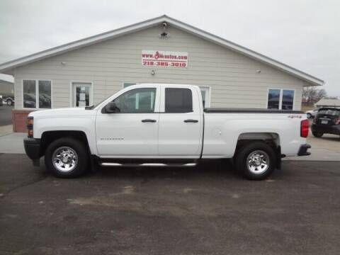 2015 Chevrolet Silverado 1500 for sale at GIBB'S 10 SALES LLC in New York Mills MN