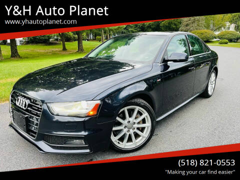 2015 Audi A4 for sale at Y&H Auto Planet in West Sand Lake NY