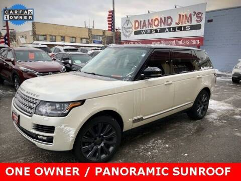 2014 Land Rover Range Rover for sale at Diamond Jim's West Allis in West Allis WI