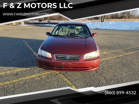 2001 Toyota Camry for sale at F & Z MOTORS LLC in Waterbury CT