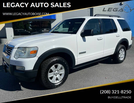 2007 Ford Explorer for sale at LEGACY AUTO SALES in Boise ID