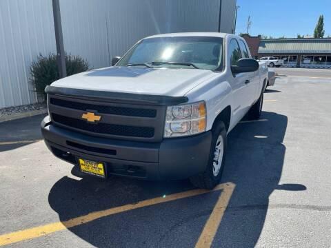 2012 Chevrolet Silverado 1500 for sale at DAVENPORT MOTOR COMPANY in Davenport WA