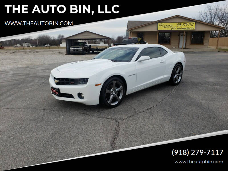 2013 Chevrolet Camaro for sale at THE AUTO BIN, LLC in Broken Arrow OK