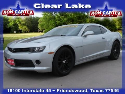 2014 Chevrolet Camaro for sale at Ron Carter  Clear Lake Used Cars in Houston TX