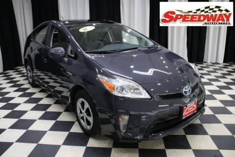 2015 Toyota Prius for sale at SPEEDWAY AUTO MALL INC in Machesney Park IL