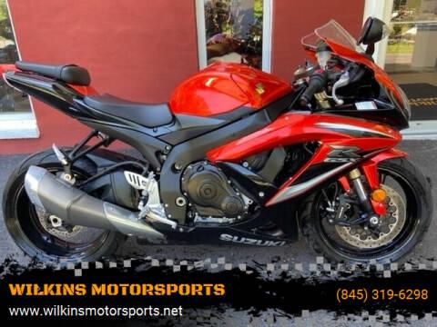 2009 Suzuki GSX-R600 for sale at WILKINS MOTORSPORTS in Brewster NY