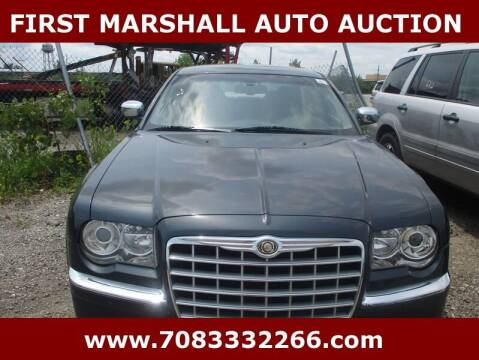 2007 Chrysler 300 for sale at First Marshall Auto Auction in Harvey IL