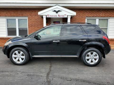 2007 Nissan Murano for sale at UPSTATE AUTO INC in Germantown NY