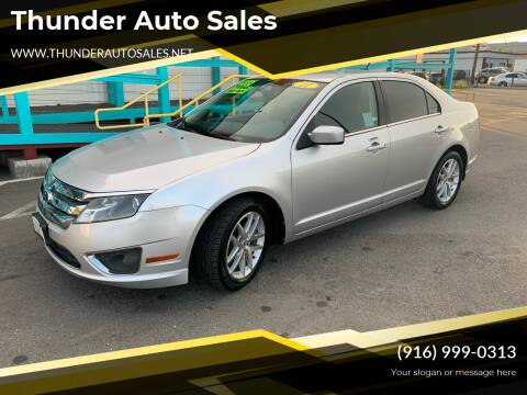 2011 Ford Fusion for sale at Thunder Auto Sales in Sacramento CA