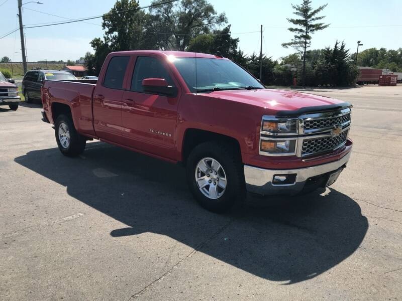 2015 Chevrolet Silverado 1500 4x2 LT 4dr Double Cab 6.5 ft. SB - Lawrence KS