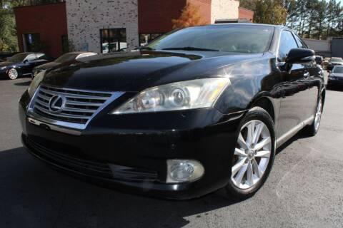 2010 Lexus ES 350 for sale at Atlanta Unique Auto Sales in Norcross GA