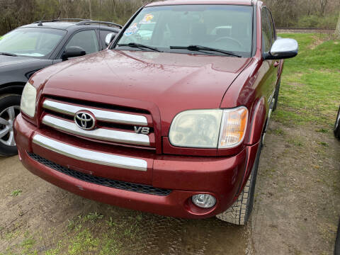 2005 Toyota Tundra for sale at Richard C Peck Auto Sales in Wellsville NY