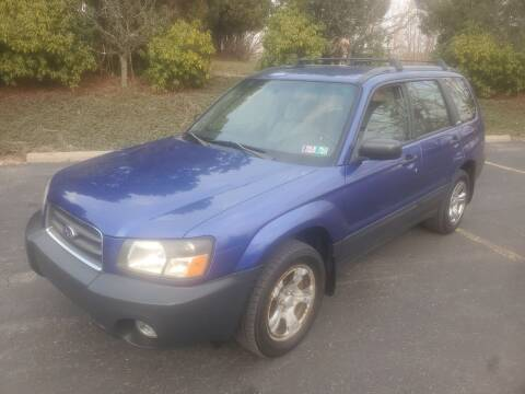 2004 Subaru Forester for sale at Car Man Auto in Old Forge PA