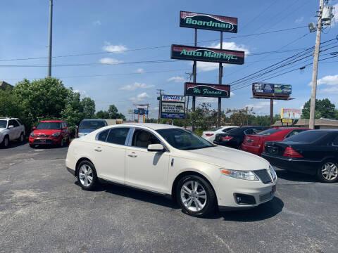 2009 Lincoln MKS for sale at Boardman Auto Mall in Boardman OH