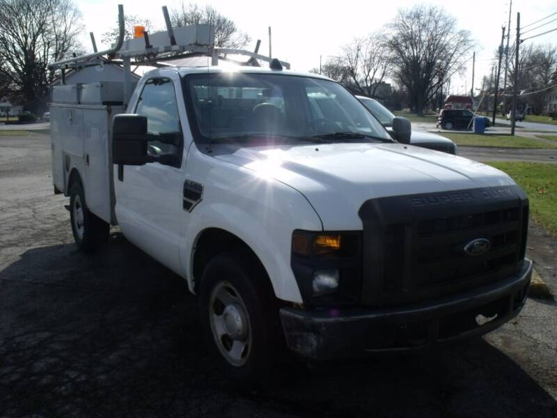 2008 Ford F-350 Super Duty for sale at Dendinger Bros Auto Sales & Service in Bellevue OH
