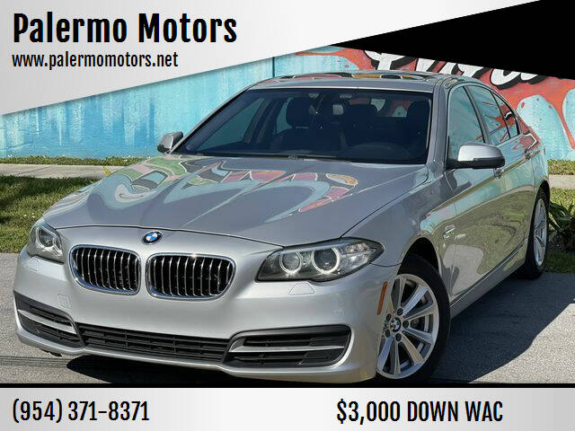 2014 BMW 5 Series for sale at Palermo Motors in Hollywood FL