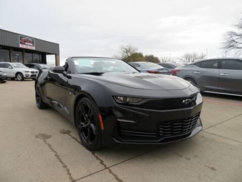 2020 Chevrolet Camaro for sale at KIAN MOTORS INC in Plano TX