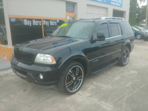 2005 Lincoln Aviator for sale at QUALITY AUTO SALES OF FLORIDA in New Port Richey FL