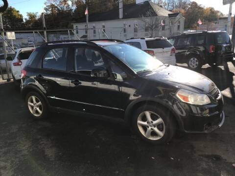 2008 Suzuki SX4 Crossover for sale at Techno Motors in Danbury CT