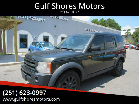 2005 Land Rover LR3 for sale at Gulf Shores Motors in Gulf Shores AL