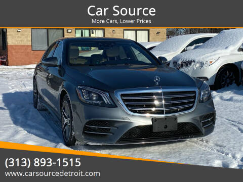 2019 Mercedes-Benz S-Class for sale at Car Source in Detroit MI