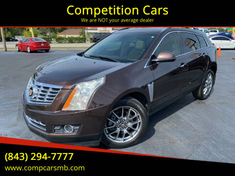 2015 Cadillac SRX for sale at Competition Cars in Myrtle Beach SC