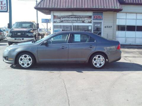 2011 Ford Fusion for sale at Settle Auto Sales TAYLOR ST. in Fort Wayne IN