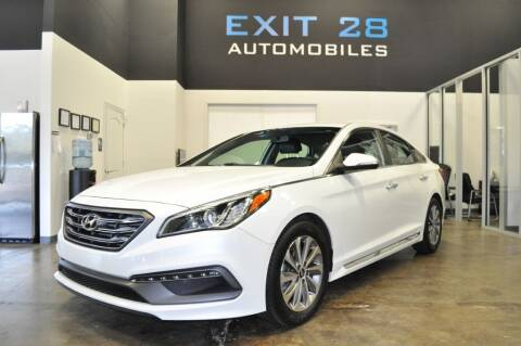 2015 Hyundai Sonata for sale at Exit 28 Auto Center LLC in Cornelius NC