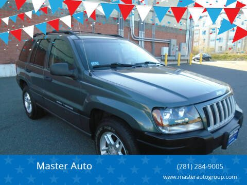2004 Jeep Grand Cherokee for sale at Master Auto in Revere MA