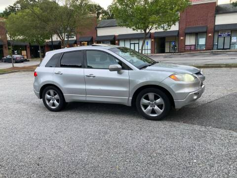 2007 Acura RDX for sale at ATLANTA AUTO WAY in Duluth GA