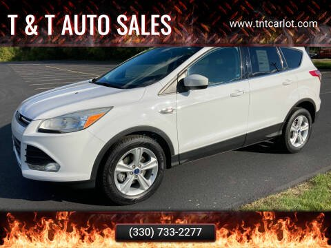 2014 Ford Escape for sale at T & T Auto Sales in Akron OH