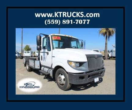 2012 International TerraStar for sale at Kingsburg Truck Center - Flatbed Trucks in Kingsburg CA