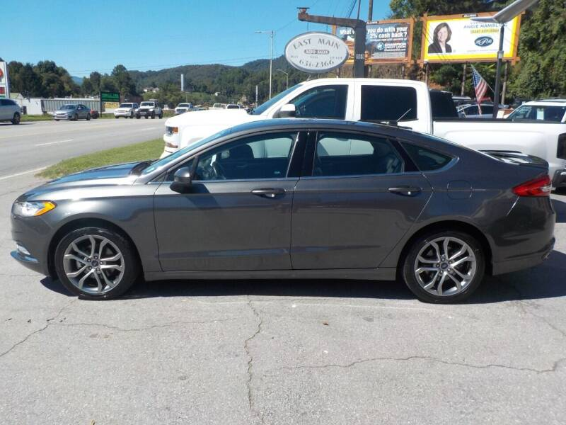 2017 Ford Fusion for sale at EAST MAIN AUTO SALES in Sylva NC