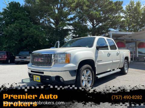 2013 GMC Sierra 1500 for sale at Premier Auto Brokers in Virginia Beach VA
