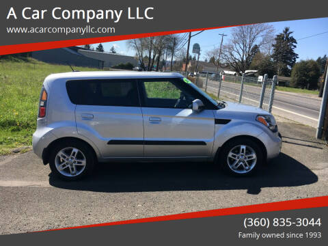 2010 Kia Soul for sale at A Car Company LLC in Washougal WA