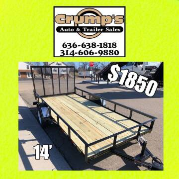 2021 Trailer Express 14' Utility Trailer for sale at CRUMP'S AUTO & TRAILER SALES in Crystal City MO
