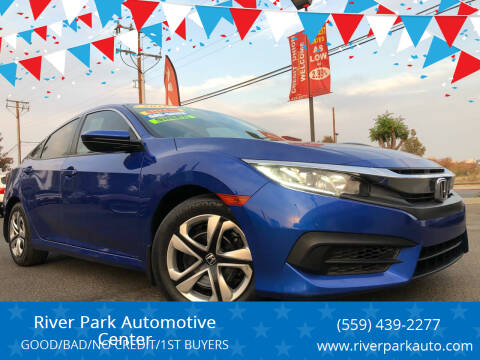 2016 Honda Civic for sale at River Park Automotive Center in Fresno CA