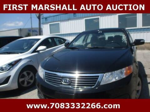 2010 Kia Optima for sale at First Marshall Auto Auction in Harvey IL