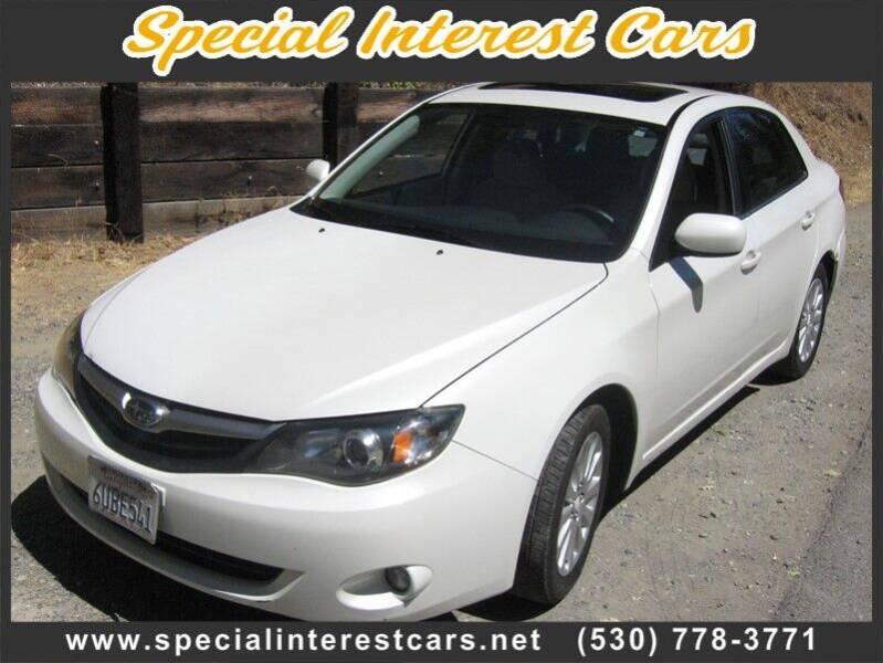 2011 Subaru Impreza for sale at SPECIAL INTEREST CARS in Lewiston CA