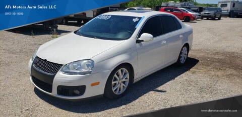 2010 Volkswagen Jetta for sale at Al's Motors Auto Sales LLC in San Antonio TX