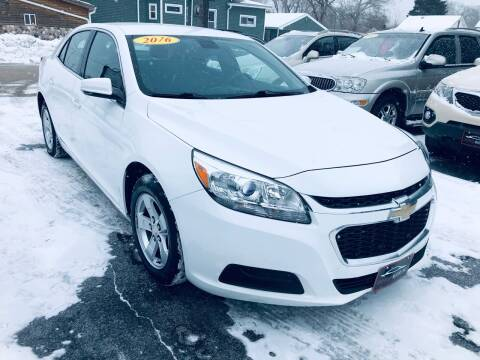 2016 Chevrolet Malibu Limited for sale at SHEFFIELD MOTORS INC in Kenosha WI