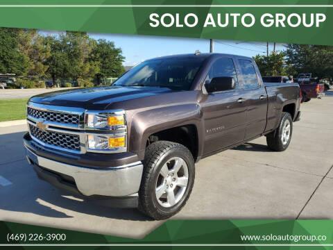 2014 Chevrolet Silverado 1500 for sale at Solo Auto Group in Mckinney TX