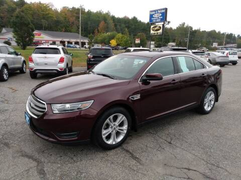 2019 Ford Taurus for sale at Ripley & Fletcher Pre-Owned Sales & Service in Farmington ME